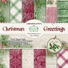 Pad of scrapbooking papers - Christmas Greetings 6x6