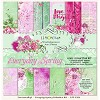 Set of scrapbooking papers - Everyday Spring 12 x12