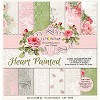 Set of scrapbooking papers - Heart Painted 12 x12