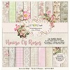 Pad of scrapbooking papers - House OF Roses 6x6  LZP-HOR02 new collection