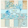 Stack of basic scrapbooking papers - Gossamer Blue-  new collection