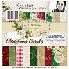 Lemoncraft Pad of scrapbooking papers - Christmas Carols 6x6  LZP-CHC02