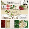 Lemoncraft Set of scrapbooking papers - Christmas Carols 12 x 12