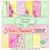 Lemoncraft Set of scrapbooking papers - Fresh Summer 12 x 12