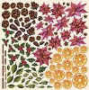 Fabrika Decoru - Paper with cards for cutting Set Botany winter