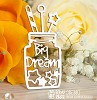 Chipboard jar Big Dream Ho-101