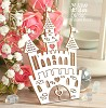 Chipboard Castle small Hc-055