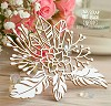 Chipboard Succulent with feathers and crystals Hf-159