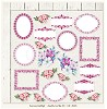 Lemoncraft Double sided scrapbooking paper - Just Love Me 03