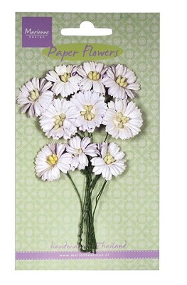 Marianne D Decoration Daisies - white RB2250