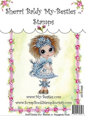 My Besties - Clear Stamps Raggedy Rose