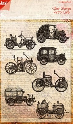 Joy! Crafts - Clear stamp - Retro auto`s