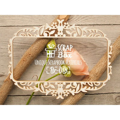 Chipboard thin frame